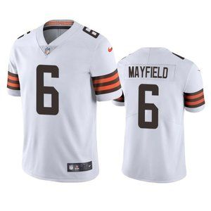 Browns Baker Mayfield White Jersey